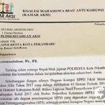 KAMAR-AKSI Akan Aksi Didepan Kajati Riau Terkait Dugaan Korupsi SPPD Fiktif Masal DPRD Rohil