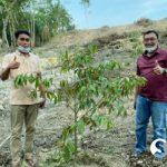 Kapolres AKBP Nurhadi Ismanto Kunjungi Kebun Durian Musangking Dr Huda di Pematang Semut